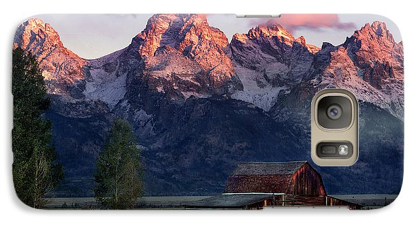 Galaxy Case featuring the photograph Moulton Barn by Leland D Howard