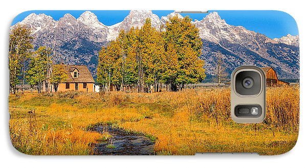 Galaxy Case featuring the photograph Moulton Homestead by Greg Norrell