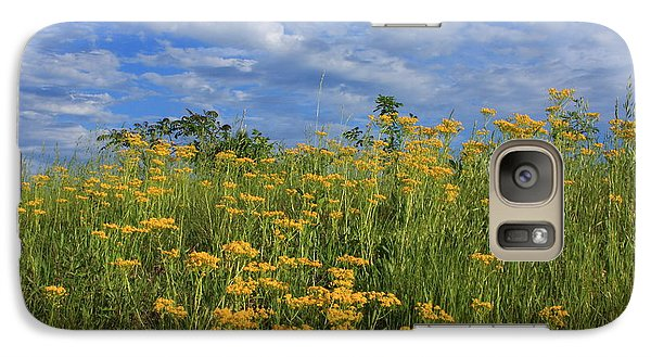 Galaxy Case featuring the photograph Mount Cheaha Goldenrod-alabama by Mountains to the Sea Photo