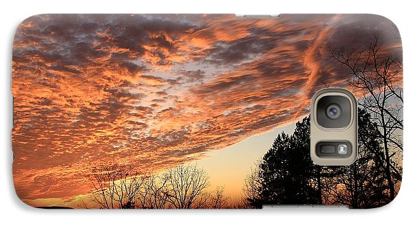 Galaxy Case featuring the photograph Mount Cheaha Sunset-alabama by Mountains to the Sea Photo