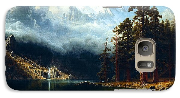 Galaxy Case featuring the painting Mount Corcoran by Albert Bierstadt