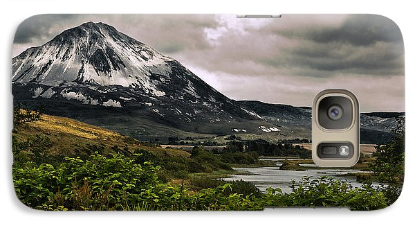 Galaxy Case featuring the photograph Mount Errigal by Jane McIlroy