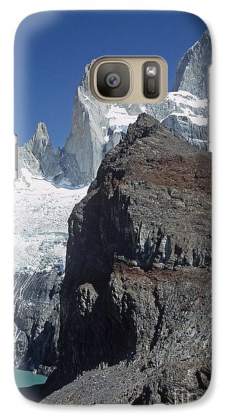 Galaxy Case featuring the photograph Mount Fitzroy Patagonia by Rudi Prott