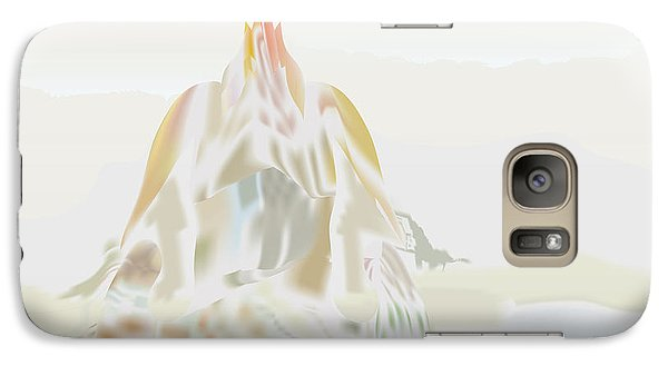 Galaxy Case featuring the digital art Mount Helm by Kevin McLaughlin