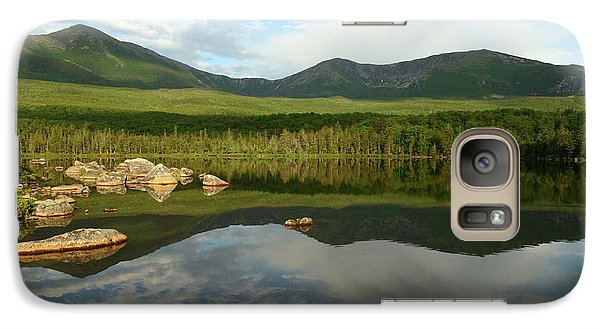 Galaxy Case featuring the photograph Mount Katahdin by Jeannette Hunt