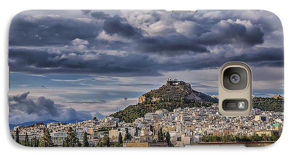 Galaxy Case featuring the photograph Mount Lycabettus In Late Afternoon by Micah Goff
