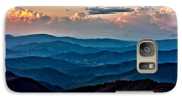 Galaxy Case featuring the photograph Mount Mitchell Sunset by John Haldane