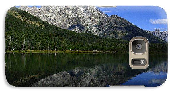 Mount Moran And String Lake Galaxy S7 Case