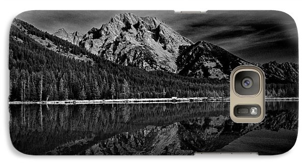 Mount Moran In Black And White Galaxy S7 Case