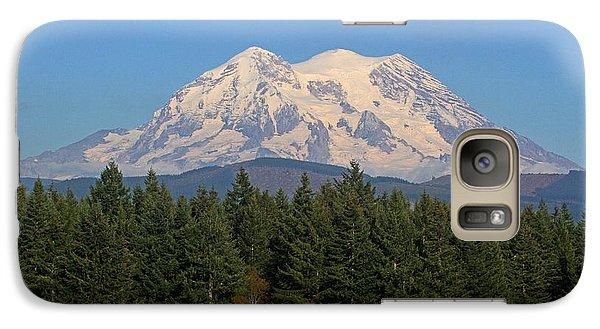 Galaxy Case featuring the photograph Mount Rainier Washington by Tom Janca