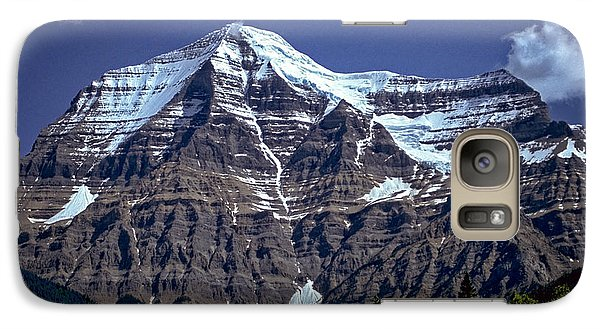 Galaxy Case featuring the photograph Mount Robson by Richard Farrington
