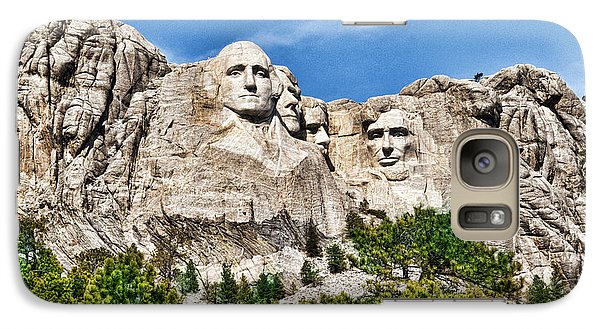 Galaxy Case featuring the photograph Mount Rushmore by Don Durfee