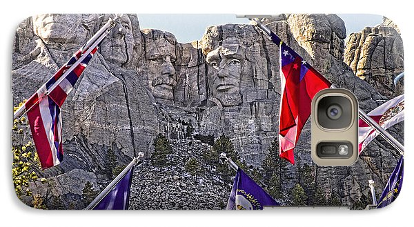 Galaxy Case featuring the photograph Mount Rushmore by Jason Abando