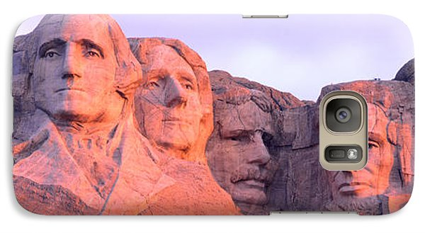 Mount Rushmore, South Dakota, Usa Galaxy S7 Case by Panoramic Images