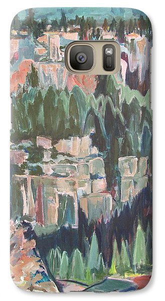 Galaxy Case featuring the painting Mountain Cathedral by Betty Pieper