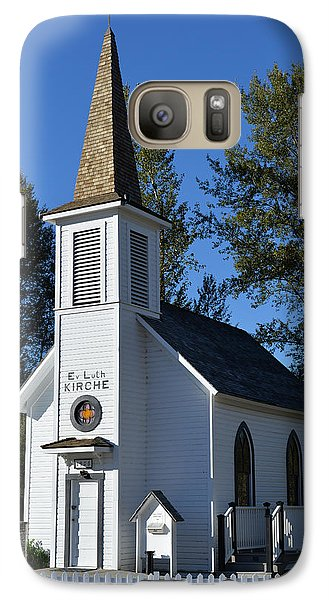 Mountain Chapel Galaxy S7 Case by Anthony Baatz
