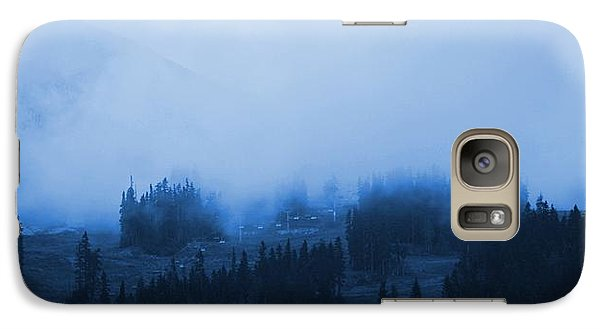 Galaxy Case featuring the photograph Mountain Clouding Over by Amanda Holmes Tzafrir