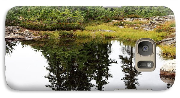 Galaxy Case featuring the photograph Mountain Lake Reflections by Gerry Bates