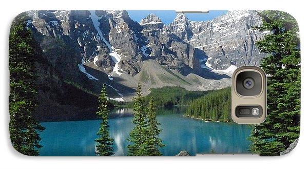 Galaxy Case featuring the photograph Mountain Magic by Alan Socolik
