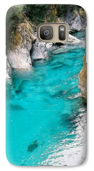Galaxy Case featuring the painting Mountain Pool by Bruce Nutting