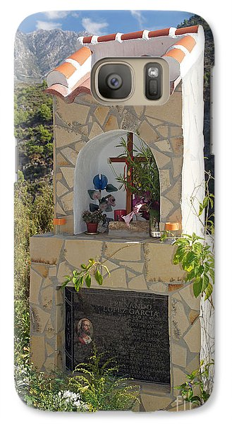 Galaxy Case featuring the photograph Mountain Shrine by Rod Jones