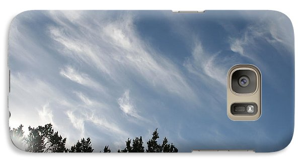 Galaxy Case featuring the photograph Mountain Sky by David S Reynolds