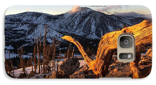 Galaxy Case featuring the photograph Mountain Snake by Peter Thoeny