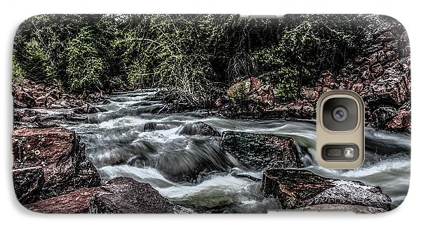 Galaxy Case featuring the photograph Mountain Stream by Ray Congrove