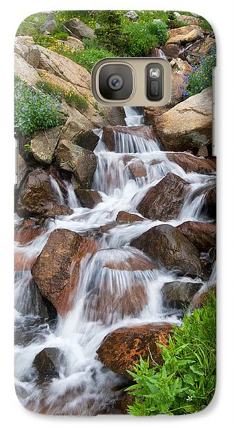 Galaxy Case featuring the photograph Mountain Stream by Ronda Kimbrow