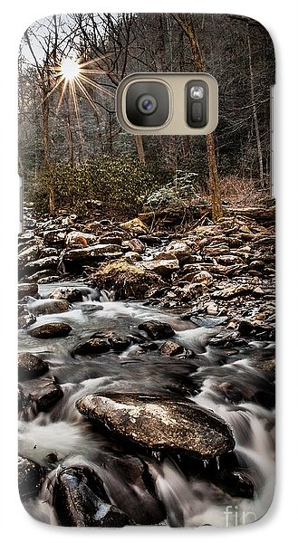Galaxy Case featuring the photograph Icy Mountain Stream by Debbie Green