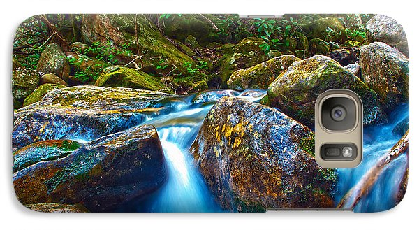 Galaxy Case featuring the photograph Mountain Streams by Alex Grichenko