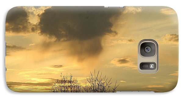 Galaxy Case featuring the photograph Mountain Sunset Five by Paula Tohline Calhoun