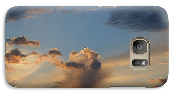 Galaxy Case featuring the photograph Mountain Sunset Seven by Paula Tohline Calhoun