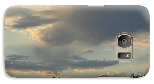 Galaxy Case featuring the photograph Mountain Sunset Six by Paula Tohline Calhoun