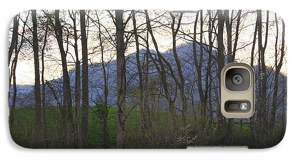 Galaxy Case featuring the photograph Mountain Sunset Ten by Paula Tohline Calhoun