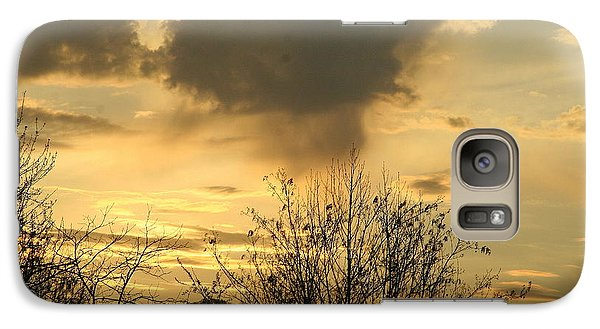 Galaxy Case featuring the photograph Mountain Sunset Two by Paula Tohline Calhoun