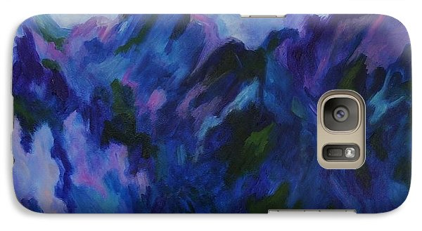 Galaxy Case featuring the painting Mountain Symphony by Alison Caltrider