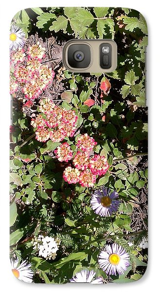Galaxy Case featuring the photograph Mountain Wildflowers by Fortunate Findings Shirley Dickerson