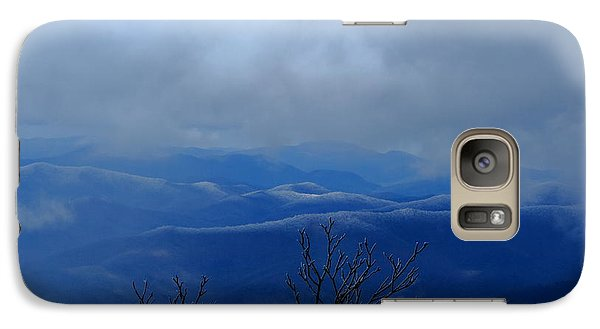 Galaxy Case featuring the photograph Mountains And Ice by Daniel Reed