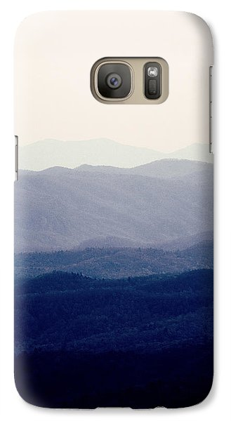 Galaxy Case featuring the photograph Mountains by Kim Fearheiley