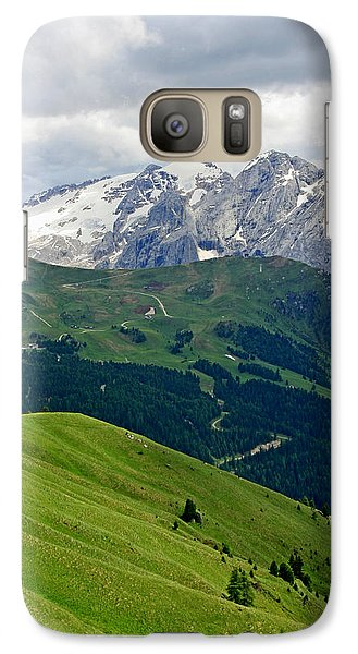 Galaxy Case featuring the photograph Mountains by Leena Pekkalainen