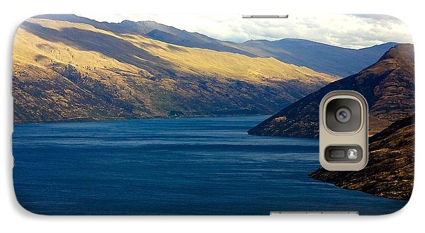 Galaxy Case featuring the photograph Mountains Meet Lake #2 by Stuart Litoff
