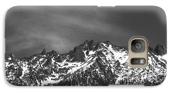 Galaxy Case featuring the photograph North Cascade Mountain Range by Yulia Kazansky