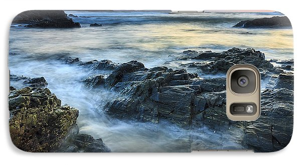 Galaxy Case featuring the photograph Mourillar Beach Galicia Spain by Pablo Avanzini