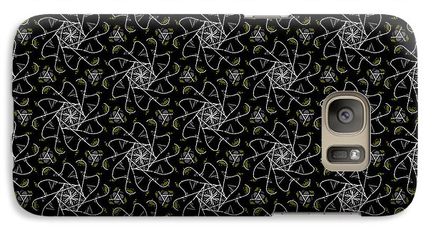 Galaxy Case featuring the digital art Mourning Weave by Elizabeth McTaggart