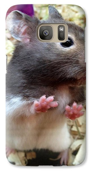 Galaxy Case featuring the photograph Mouse In The House by Carla Carson