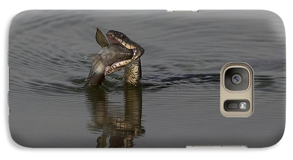 Galaxy Case featuring the photograph Mouthful by Eunice Gibb
