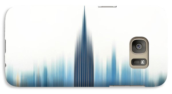 Empire State Building Galaxy S7 Case - Moving An Empire by Az Jackson