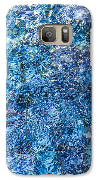 Galaxy Case featuring the photograph Moving Water 1 by Leigh Anne Meeks