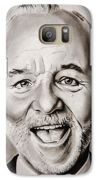 Groundhog Galaxy S7 Case - Mr Bill Murray by Brian Broadway